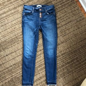 Loft jeans/legging 25